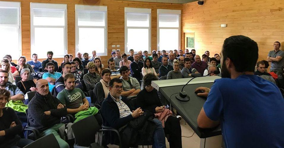 El exitoso encuentro BASERRI GAZTEA es un buen comienzo para trabajar el futuro