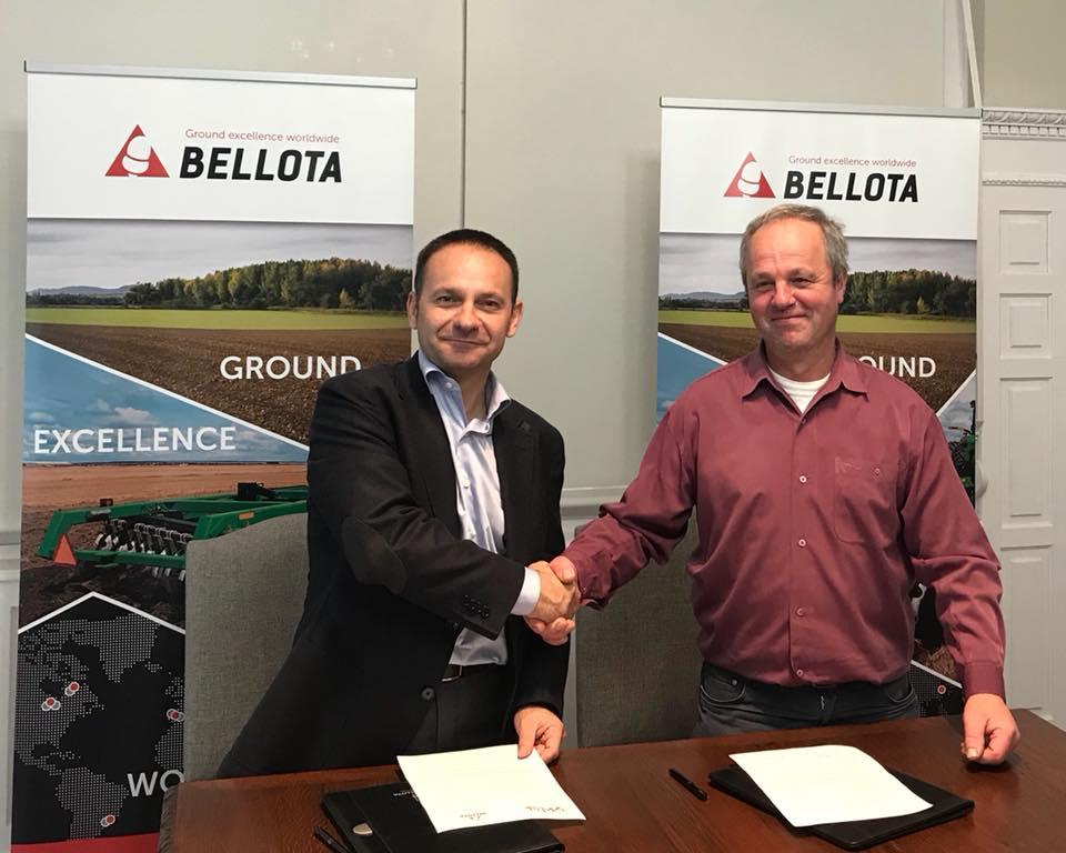 ENBA y BELLOTA Agrisolutions firman un convenio de colaboración para ONGI ETORRI BASERRIRA