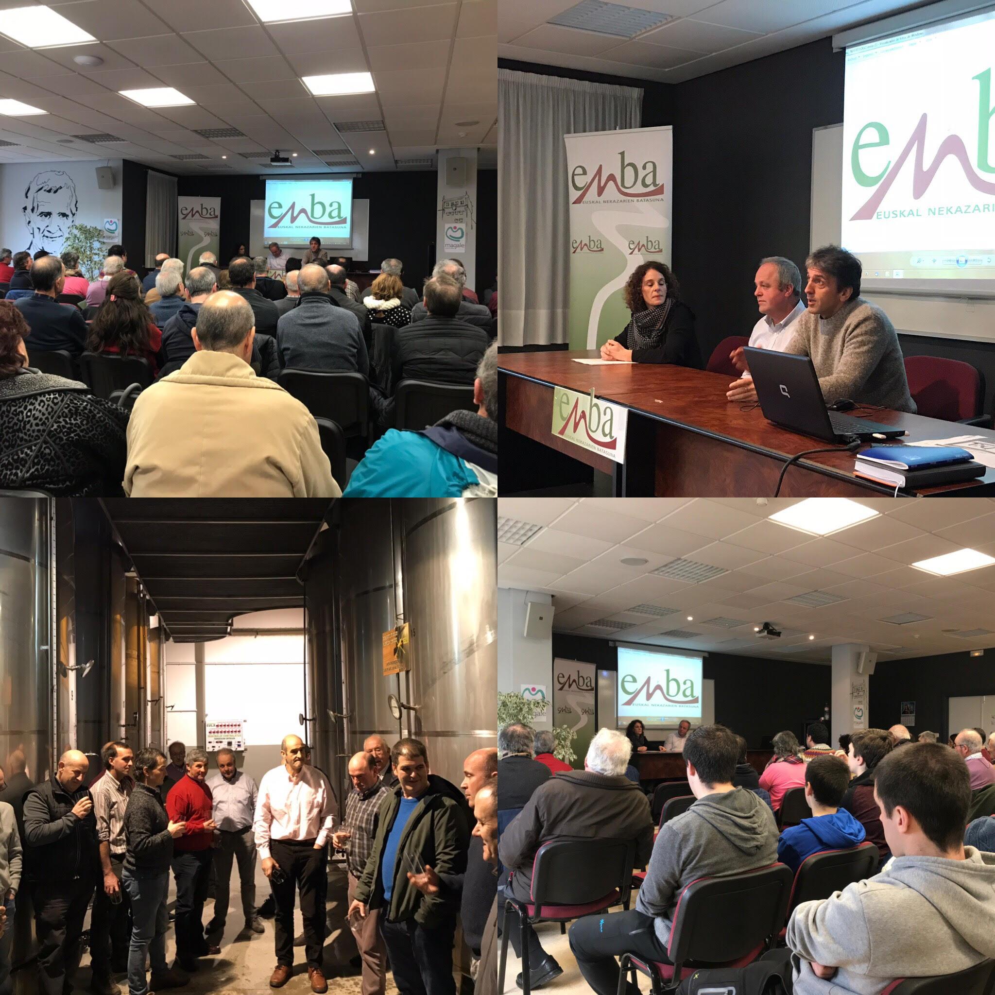 """""""Queremos una Gipuzkoa ORGULLOSA de los baserritarras que producen sus alimentos y gestiona el territorio"""" afirma Iñaki Goenaga, presidente de ENBA"""